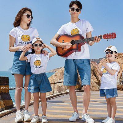 Áo thun màu trắng mix cùng quần short luôn mang đến vẻ ngoài trẻ trung, năng động cho người mặc