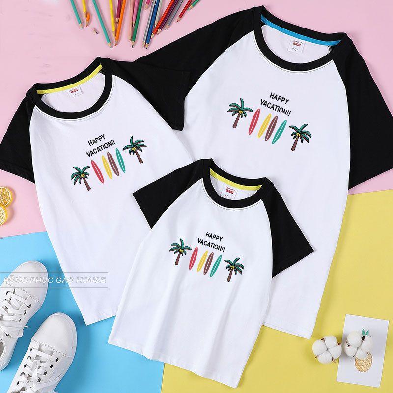 Luôn ưu tiên chọn những mẫu đồng phục gia đình màu sắc phù hợp