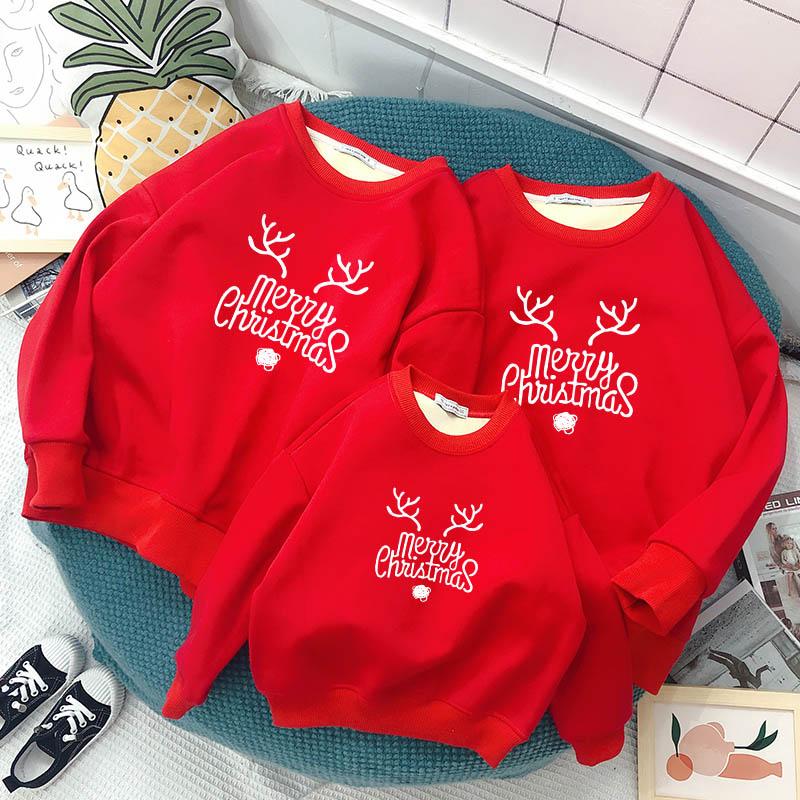 Đồng phục noel kiểu sweater là một trong những item được nhiều gia đình ưa chuộng