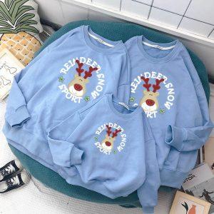 Mẫu đồng phục áo hoodie cho gia đình 3 người