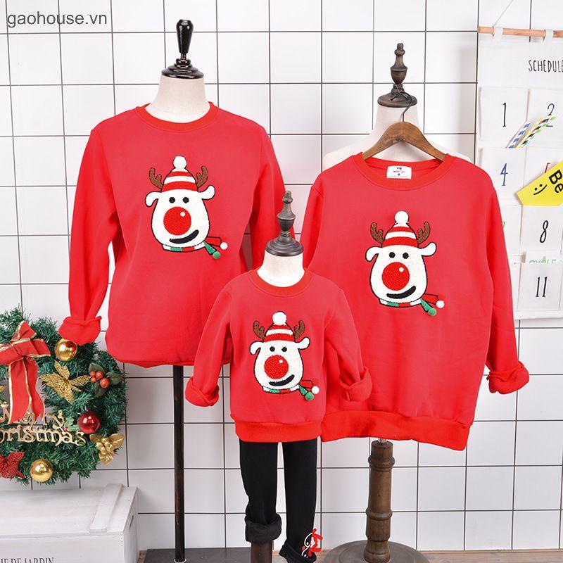 Áo đồng phục Noel giúp gắn kết các thành viên trong gia đình