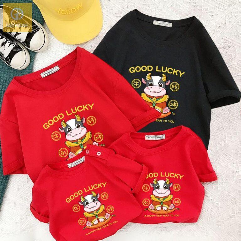 Áo phông gia đình tết - lựa chọn trang phục số 1 cho các gia đình miền nam