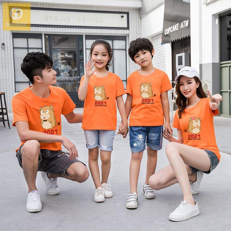 Những chiếc áo phông gia đình tết luôn mang đến sự năng động, thoải mái cho người mặc